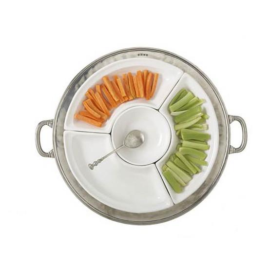 Convivio Round Sectional Platter