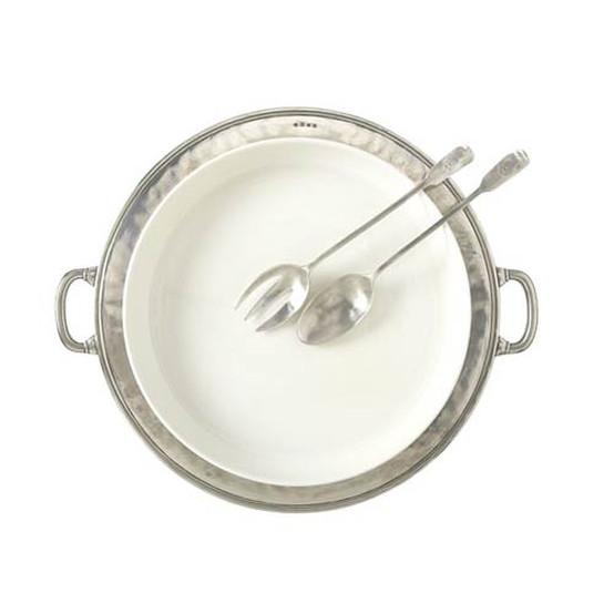 Convivio Round Serving Casserole Platter