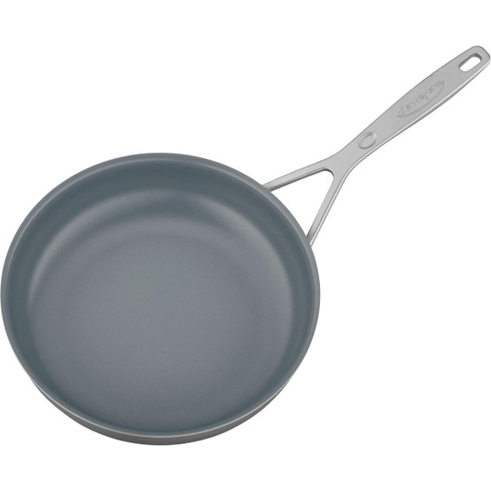 """Industry 9.5"""" Stainless Steel Traditional Nonstick Fry Pan"""