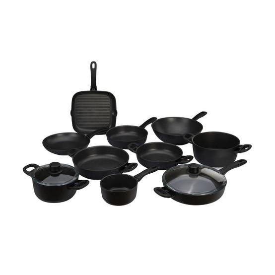 Avola 10 Piece Aluminum Nonstick Cookware Set