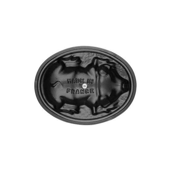 Pig Cocotte 1 Quart in Graphite Grey