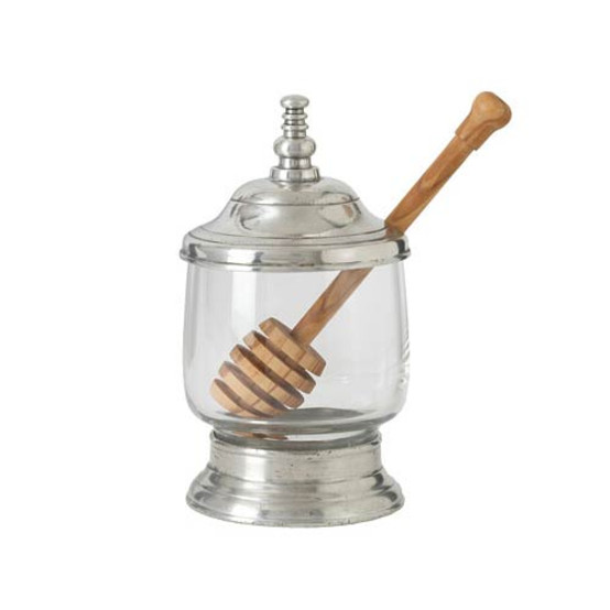 Honey Jar with Spoon