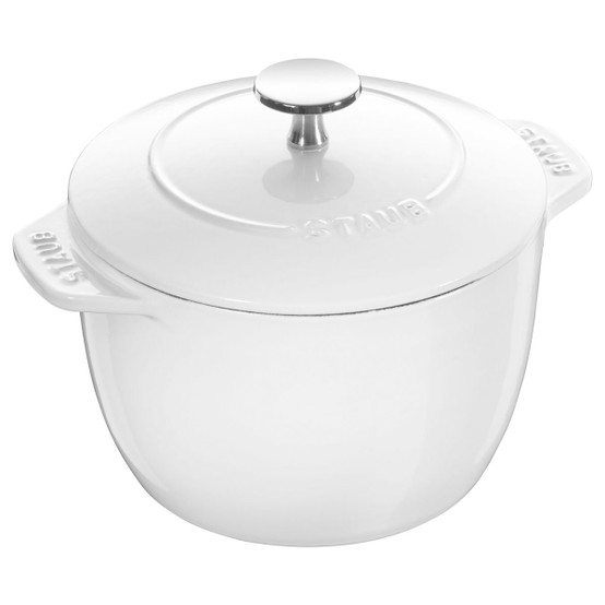 Petite French Oven 1.5 Quart in White