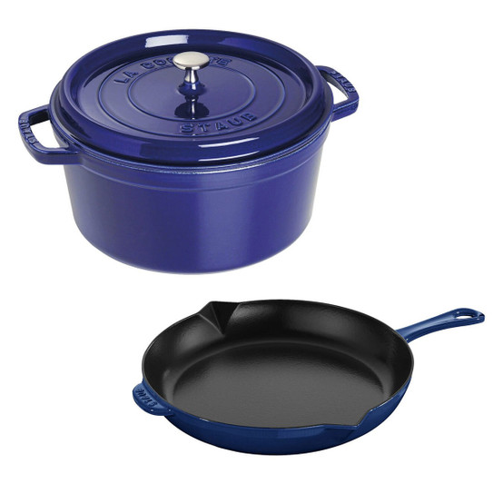 3 Piece Cocotte and Fry Pan Set