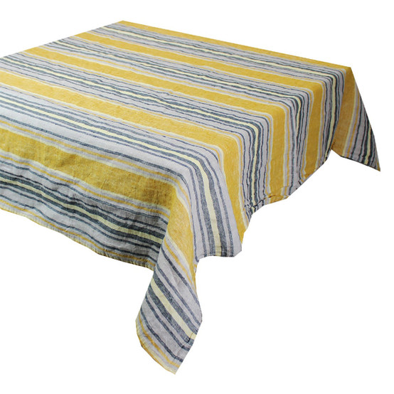Sombrilla Curry Tablecloth 61 x 61