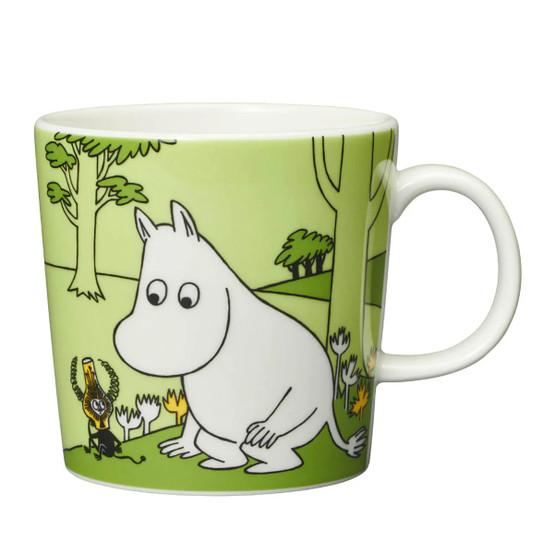 Moomintroll Green Moomin Mug