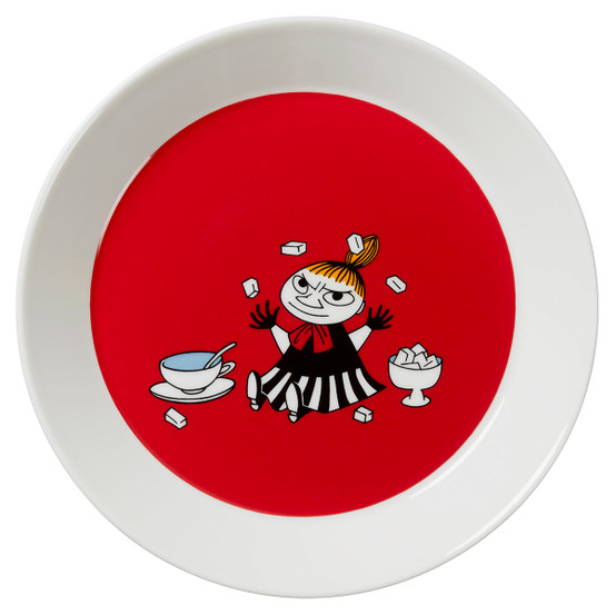 Little My Red Moomin Plate