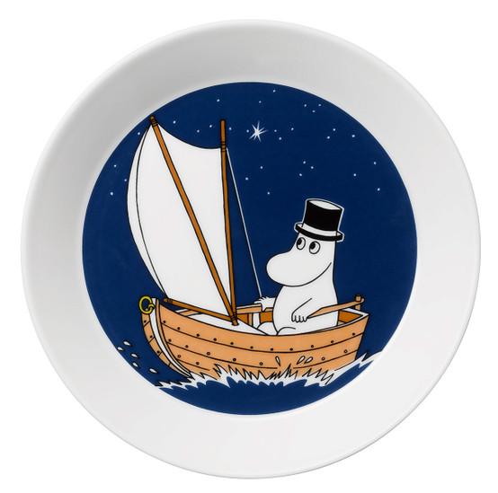 Moominpappa Blue Moomin Plate
