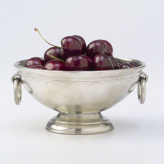 Deep Footed Bowl with Rings