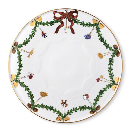 Star Fluted Christmas Cake Dish