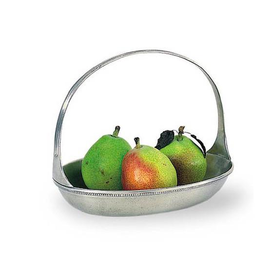 Oval Basket Bowl, Medium