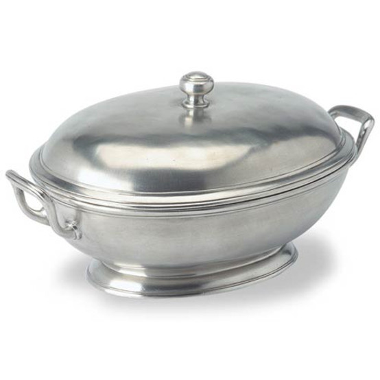 Oval Tureen with Handles