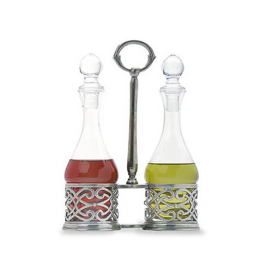 Cutwork Oil & Vinegar Set