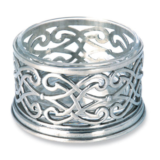 Cutwork Bottle Coaster with no glass insert