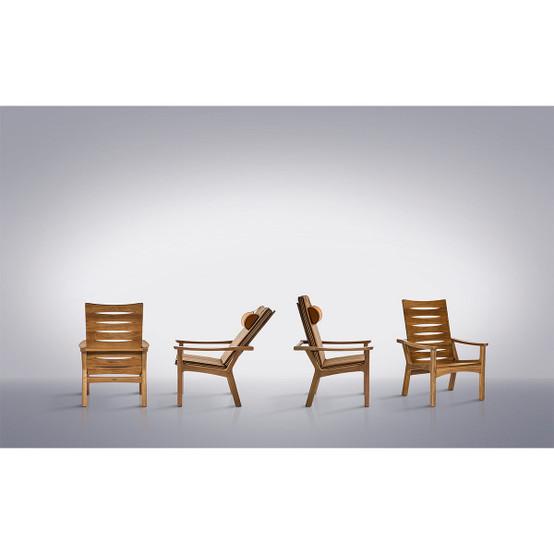 Monterey All Teak Adjustable Back Armchair