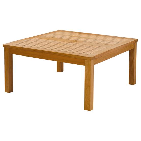 Haven Teak 39 Inch Square Conversation Table