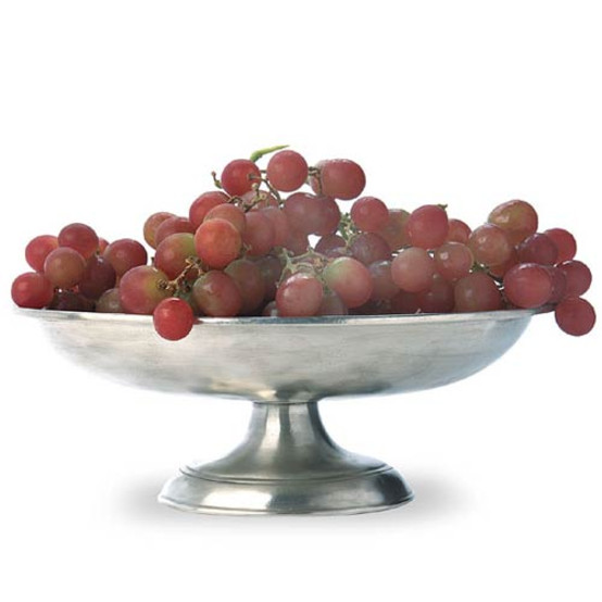 Oval Footed Shallow Bowl