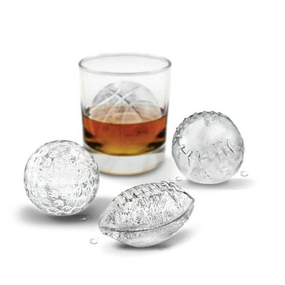 Sports Ball Ice Molds (Set of 4)