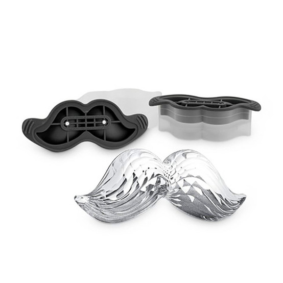 Mustache Ice Molds (Set of 2)