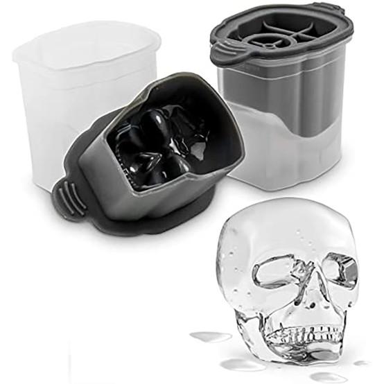 Skull Ice Molds (Set of 2)
