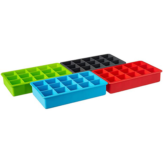 Perfect Cube Ice Tray (Set of 4)