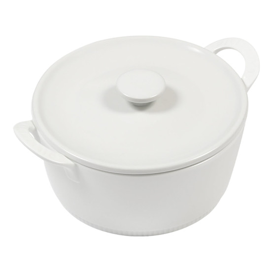 Toulouse Flame Proof Casserole with Lid 8 Inches