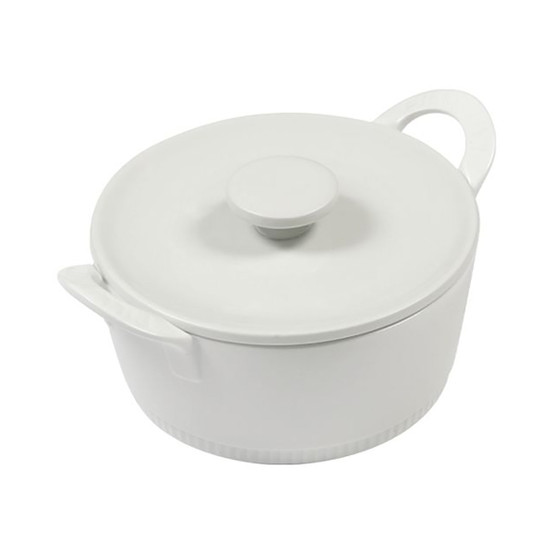 Toulouse Flame Proof Casserole with Lid 6.25 Inches