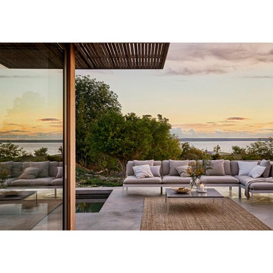 Bönan Lounge Sofa Corner Section in Light Grey