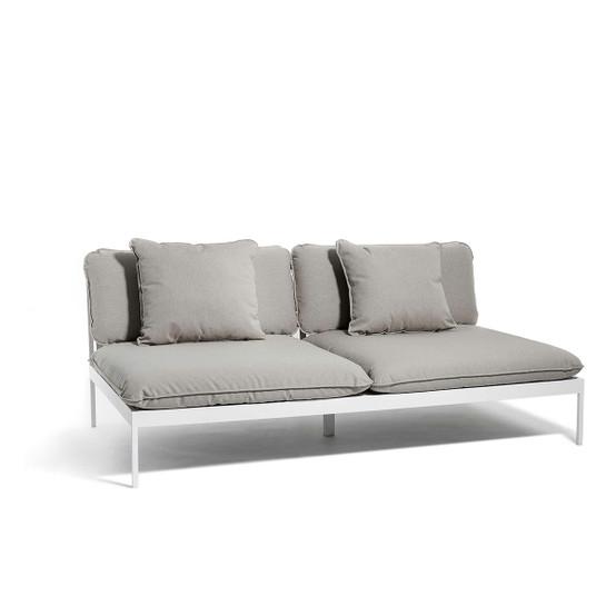 Bönan Lounge Sofa with Light Grey Frame