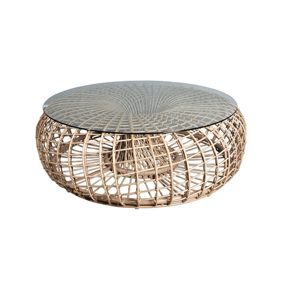 Nest Large Footstool/Coffee Table in Natural