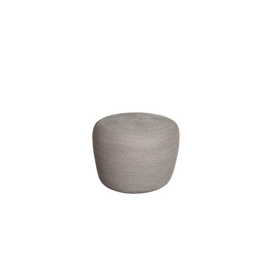 Circle Small Conic Footstool in Taupe