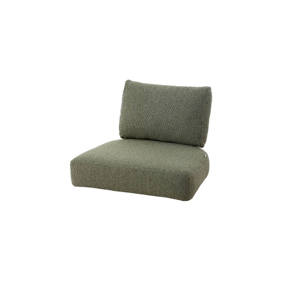 Nest Indoor Lounge Chair Cushion Set in Dark Green