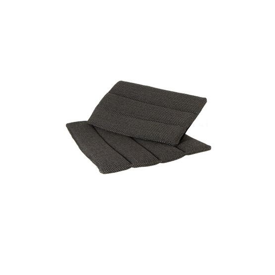 Flip Folding Chair Cushion in Dark Grey Focus