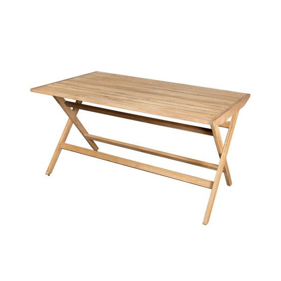 Flip Large Folding Table in Teak