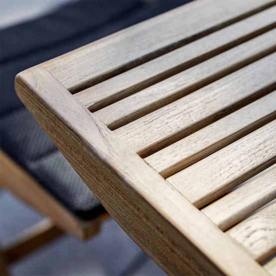 Flip Small Folding Table in Teak