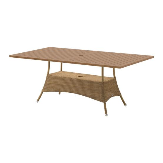 Lansing Large Dining Table Top in Teak