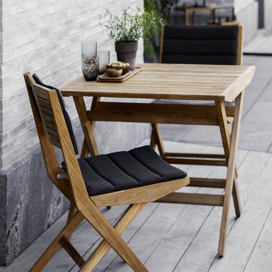 Flip Folding Chair in Teak