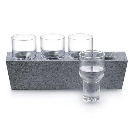 Alpine Vodka Glass Set of 4