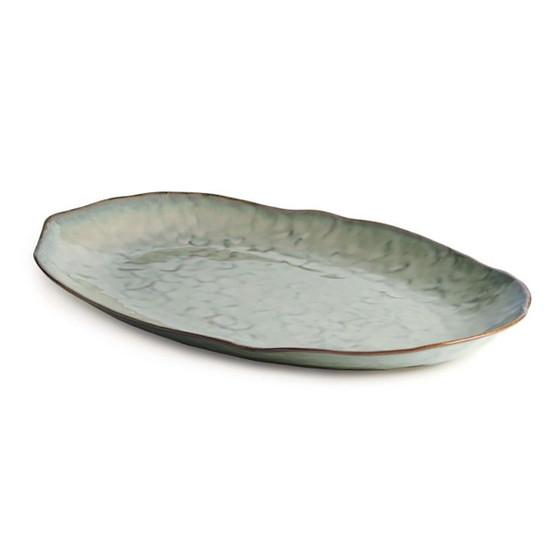 Large Burlington Oval Platter in Moss Glen