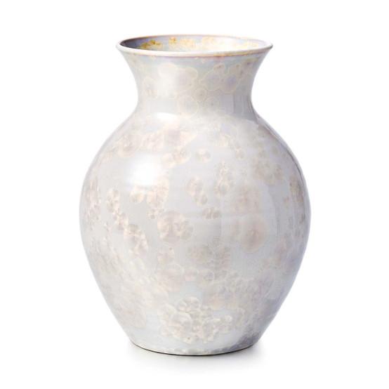 Medium Crystalline Curio Vase in Candent