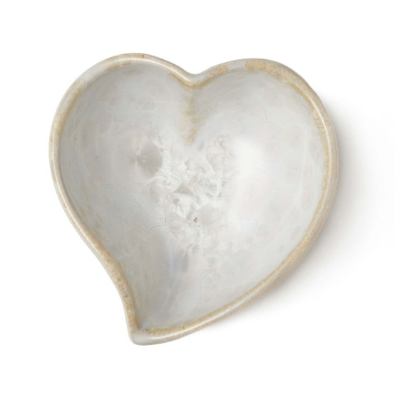 Crystalline Heart Dish in Candent