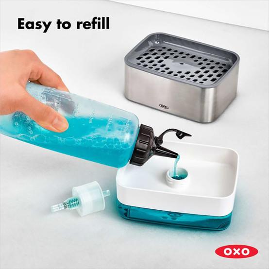 Good Grips Soap Dispensing Sponge Holder