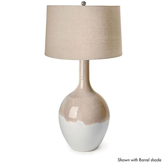 Warren Reactive Glaze Lamp, Large - Bluff