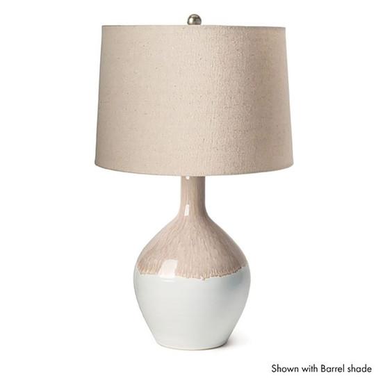 Warren Reactive Glaze Lamp, Small - Bluff