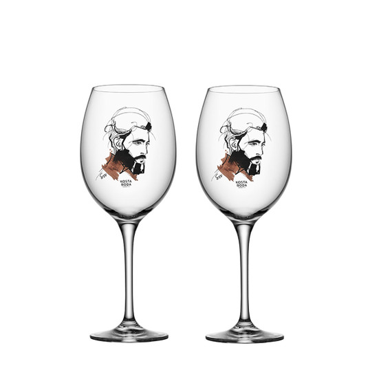All About You Wait For Him Wine Glass, Set of 2