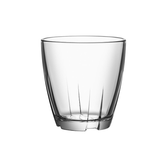 Bruk Small Tumbler in Clear, Set of 4