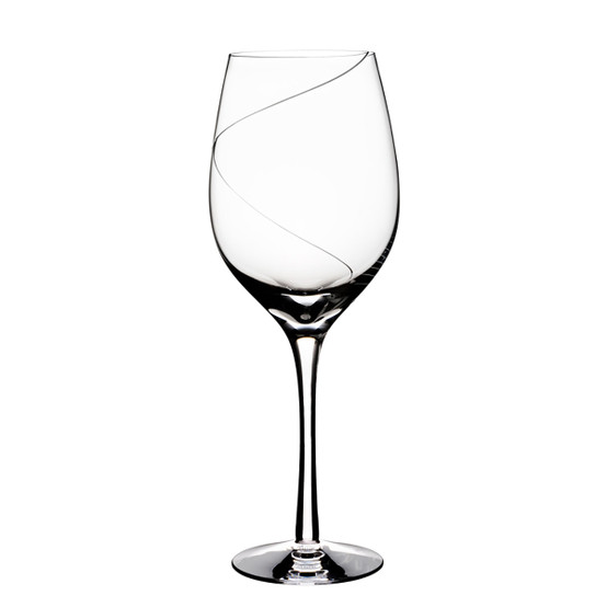 Line Red Wine Glass