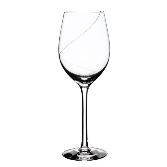 Line White Wine Glass