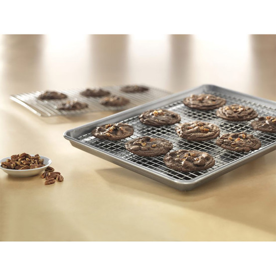 Jelly Roll Nonstick Cooling Rack and Pan Set