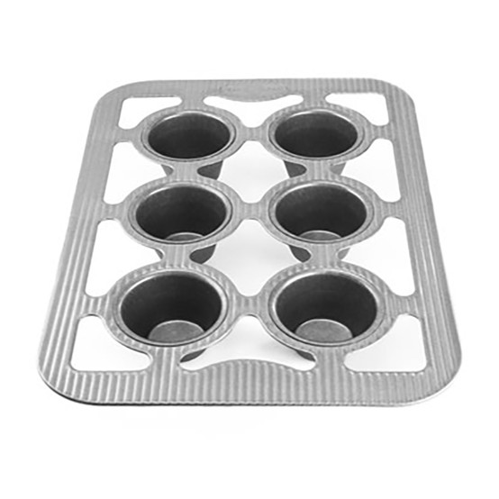 Popover Pan - 6 Well